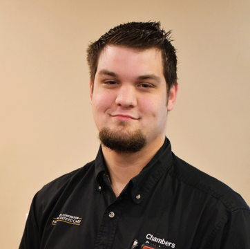 Employee photo of Josiah, appliance repair technician at Chambers Services Inc.