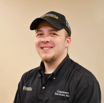 Photo of Andy, a member of the Chambers Services Inc. team in Bloomington, IL.