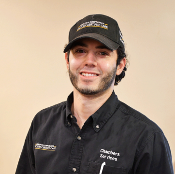 Team member photo of Vinnie, appliance repair technician at Chambers Services Inc.