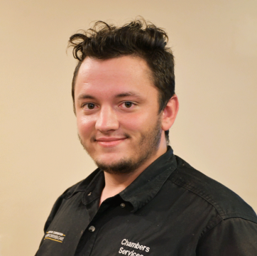Team member photo of Christian, appliance repair technician at Chambers Services Inc.