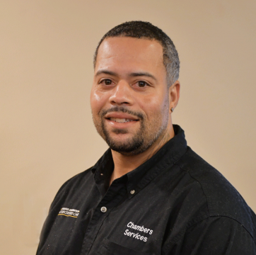 Team member photo of Bronell, appliance repair technician at Chambers Services Inc.