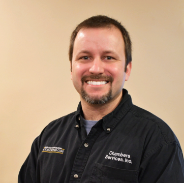 Employee photo of Mike L., appliance repair technician at Chambers Services Inc.